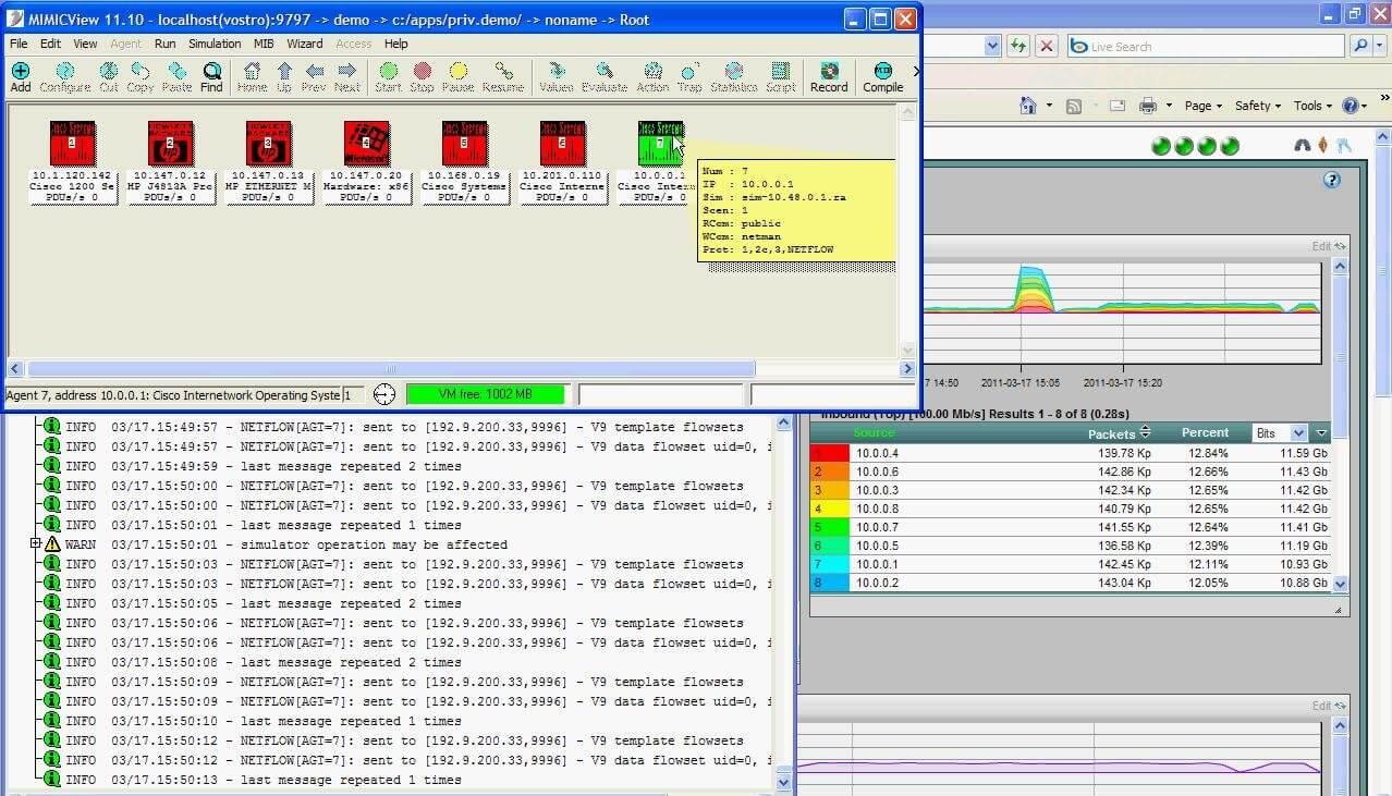 NetFlow Simulator | Gambit Communication