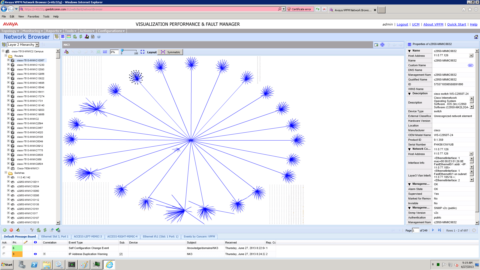MIMIC Simulator - A large-scale simulation solution